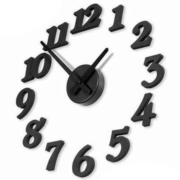 航昊卡通可爱创意DIY挂钟数字钟表客厅时尚座系列